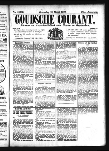 Goudsche Courant 1910-03-16