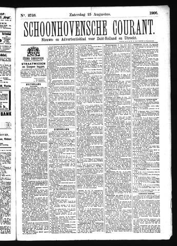 Schoonhovensche Courant 1906-08-25