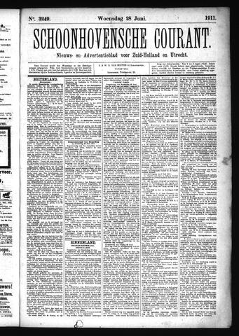 Schoonhovensche Courant 1911-06-28