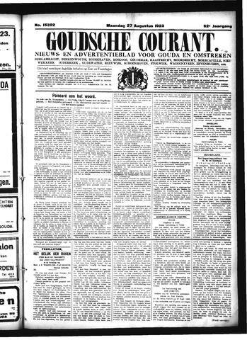 Goudsche Courant 1923-08-27