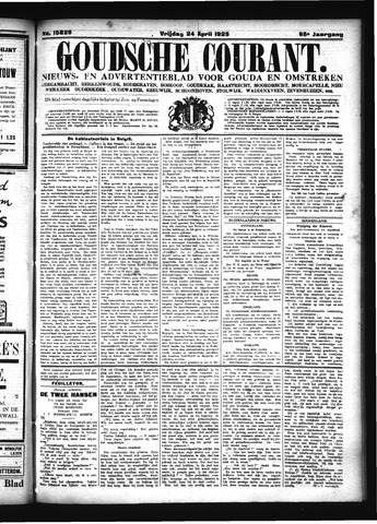 Goudsche Courant 1925-04-24