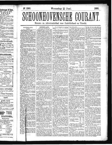 Schoonhovensche Courant 1893-06-21