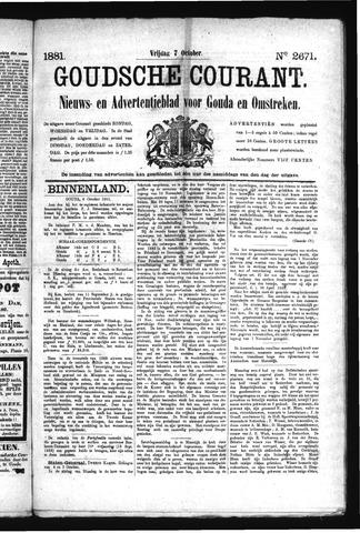 Goudsche Courant 1881-10-07