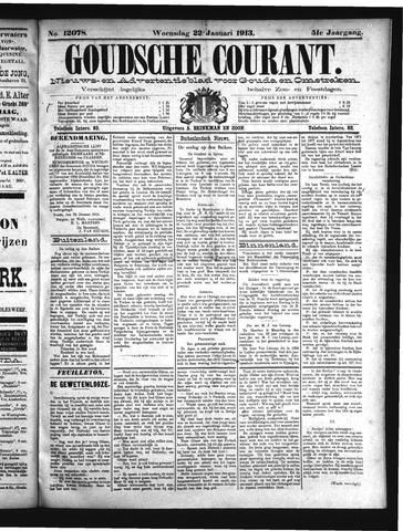 Goudsche Courant 1913-01-22