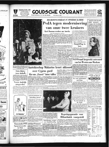 Goudsche Courant 1959-02-12
