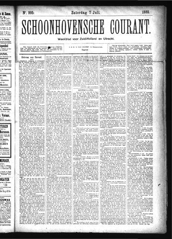 Schoonhovensche Courant 1888-07-07