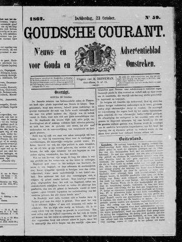 Goudsche Courant 1862-10-23