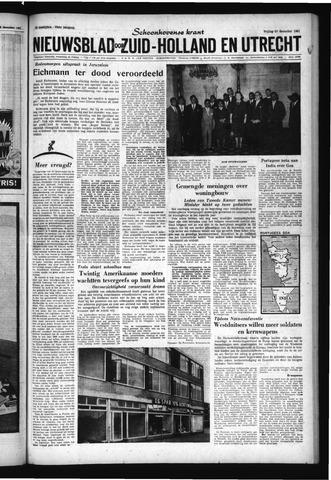 Schoonhovensche Courant 1961-12-15