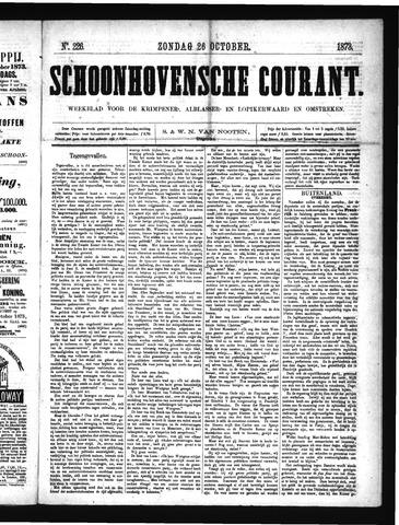 Schoonhovensche Courant 1873-10-26