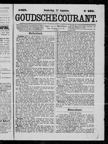 Goudsche Courant 1868-08-27