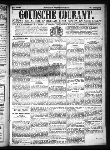 Goudsche Courant 1922-09-15