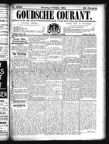 Goudsche Courant 1914-10-03