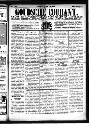 Goudsche Courant 1929-07-25