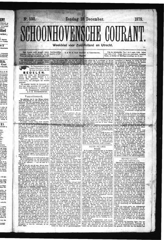 Schoonhovensche Courant 1879-12-28