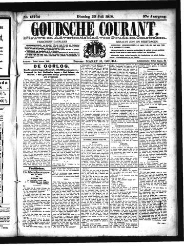 Goudsche Courant 1918-07-23