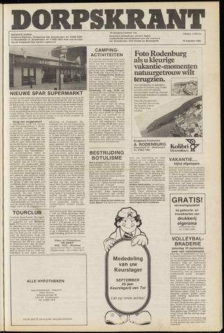 Dorpskrant 1983-08-18