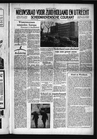 Schoonhovensche Courant 1954-01-06
