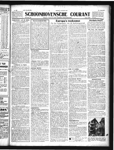 Schoonhovensche Courant 1943-08-03