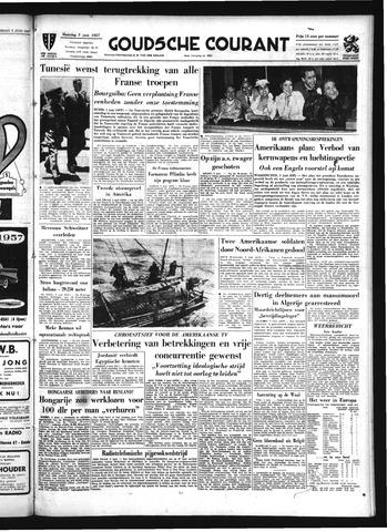Goudsche Courant 1957-06-03