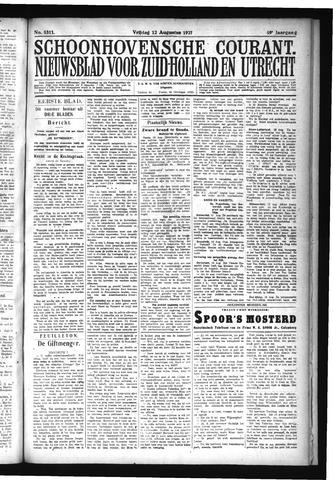 Schoonhovensche Courant 1927-08-12