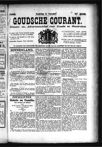 Goudsche Courant 1889-09-12