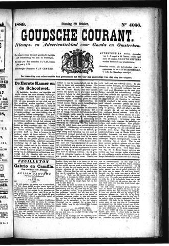 Goudsche Courant 1889-10-29