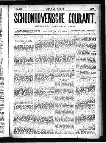 Schoonhovensche Courant 1876-07-02
