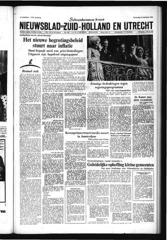 Schoonhovensche Courant 1965-09-22