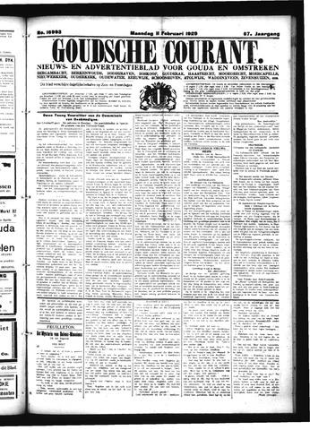 Goudsche Courant 1929-02-11
