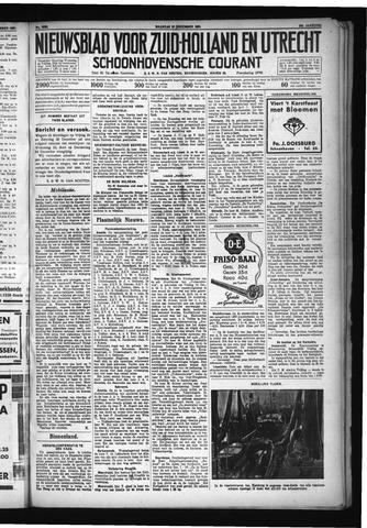 Schoonhovensche Courant 1931-12-21