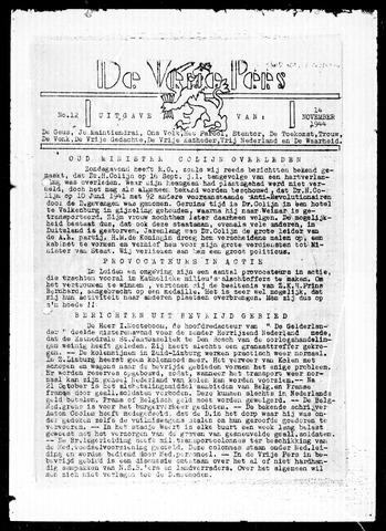 De Vrije Pers 1944-11-14