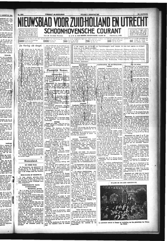 Schoonhovensche Courant 1933-08-04