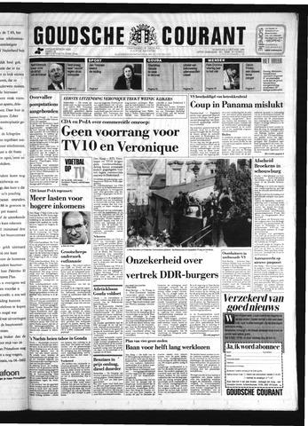 Goudsche Courant 1989-10-04