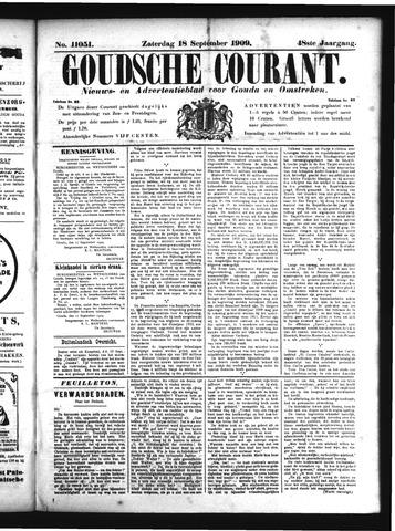 Goudsche Courant 1909-09-18