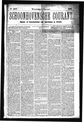 Schoonhovensche Courant 1899-01-04