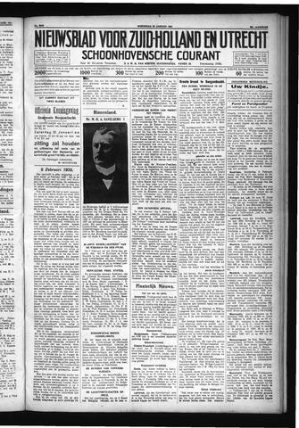 Schoonhovensche Courant 1931-01-28