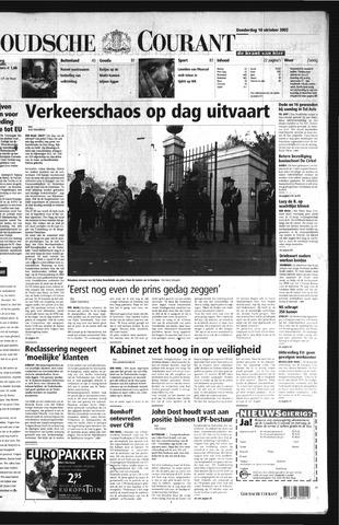 Goudsche Courant 2002-10-10