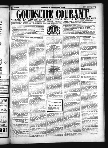 Goudsche Courant 1934-12-04