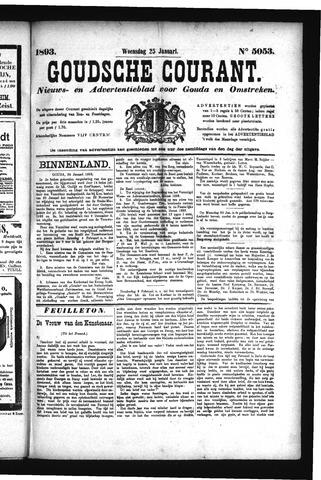 Goudsche Courant 1893-01-25