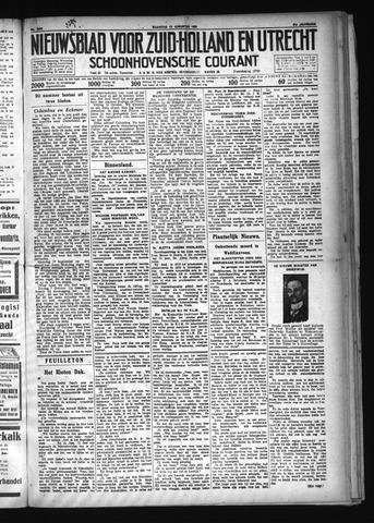 Schoonhovensche Courant 1929-08-12