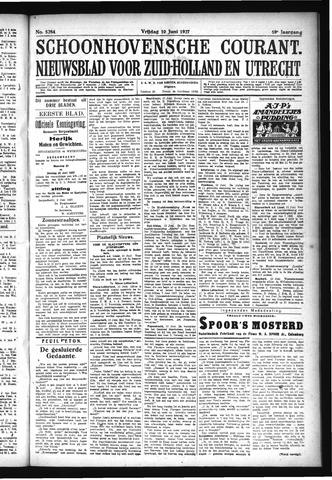 Schoonhovensche Courant 1927-06-10