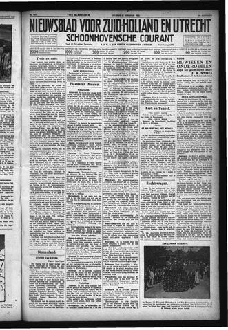 Schoonhovensche Courant 1932-08-12