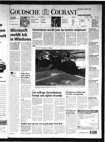 Goudsche Courant 2004-02-11