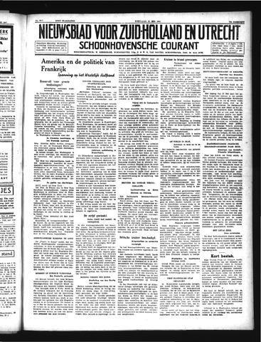 Schoonhovensche Courant 1941-05-21
