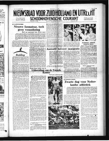 Schoonhovensche Courant 1952-07-25