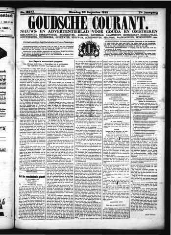 Goudsche Courant 1932-08-30