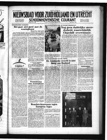 Schoonhovensche Courant 1951-10-26