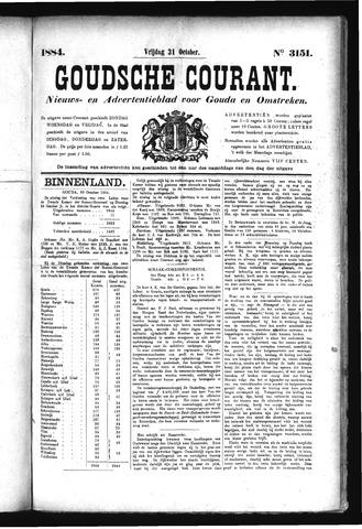 Goudsche Courant 1884-10-31