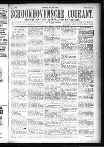 Schoonhovensche Courant 1925-06-29