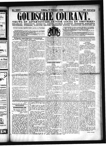 Goudsche Courant 1928-02-10